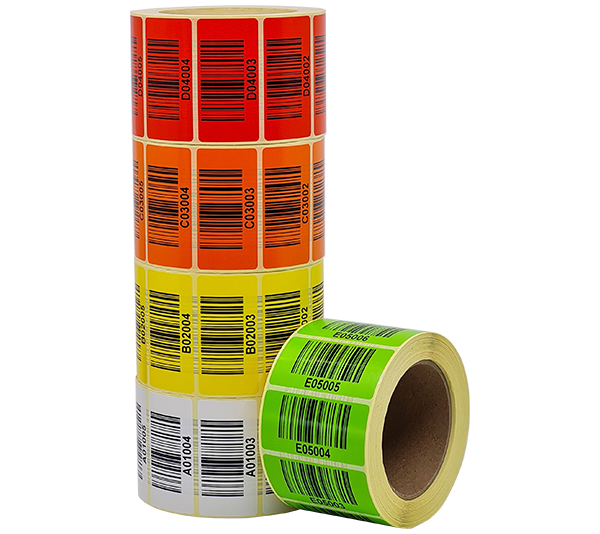 ONE2ID LPN URN HU labels track and trace warehouse barcode labels