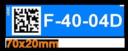 ONE2ID Magneten legbordstelling magnetische etiketten picklocaties