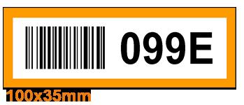 ONE2ID Kleurcodering magazijnlabels barcode etiketten
