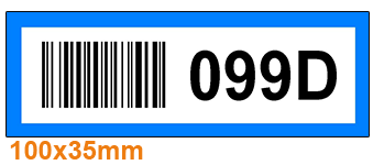 ONE2ID Multicolour warehouse labels