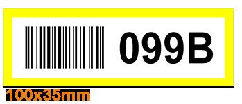 ONE2ID Picklocatie labels locatienummering magazijn