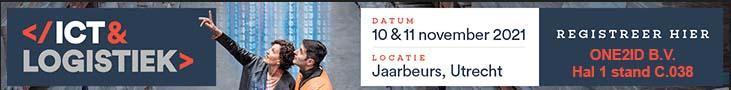 ONE2ID magazijnlabels ICT en Logistiek Jaarbeurs Utrecht
