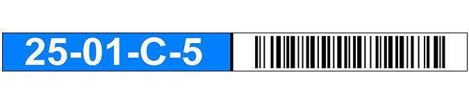 ONE2ID Order picken magazijnlabels barcode scannen